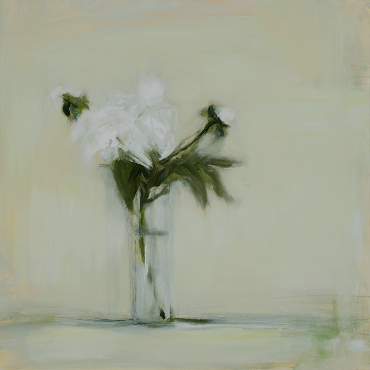 """Bloom"", 24""x24"", acrylic on canvas."